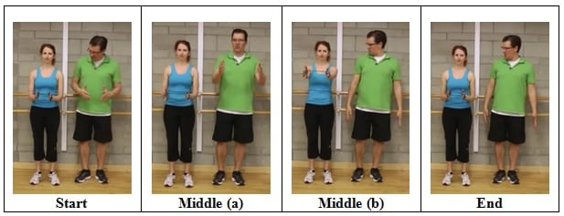 Hands out in Front 3 Mini Band Wall Exercises for Shoulder Health