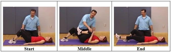 Knee Range of Motion Exercise