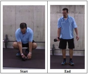 Using a Wrist Strap or a Lifting Strap Quick Fix for Elbow Pain When Doing Dumbbell Exercises
