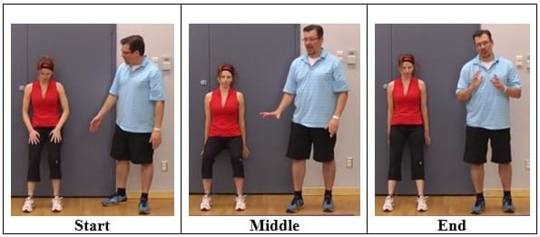 Wall Sit Exercise