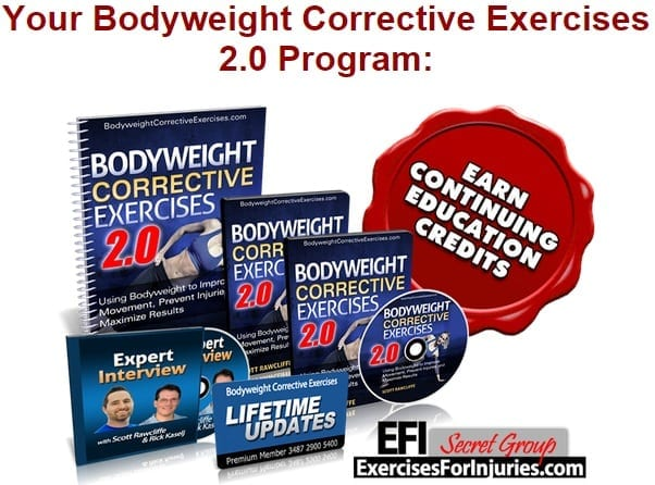 Bodyweight Corrective Exercises 2.0 Program