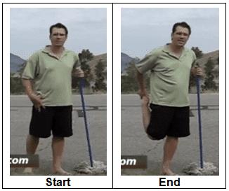 How to Do Quadriceps Stretch