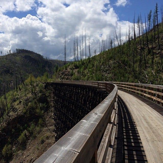Rick Kaselj Myra Canyon