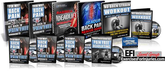 Fix My Back Pain bundle