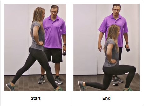 Static Split Squat