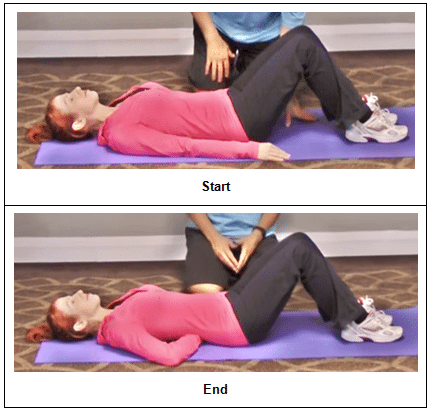 Tight Hip Flexors Test 2