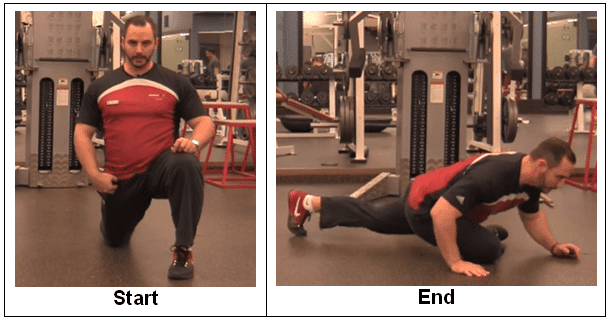 2-Step Kneeling Hip Stretch