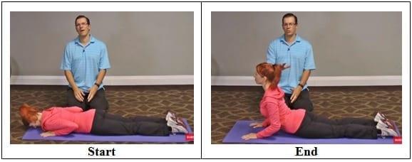 Back Pain Yoga Exercise