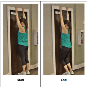 Vertical Hanging Exercise