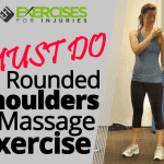 MUST DO Rounded Shoulders Massage Exercise