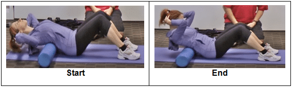 Arching Over the Foam Roller