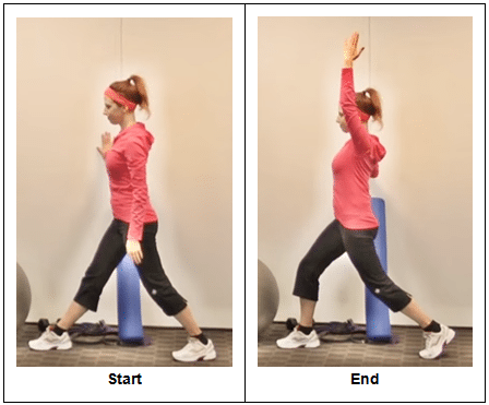hip flexor stretch pics