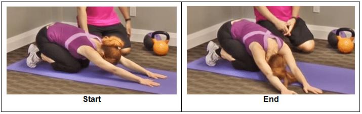 Three Way Praying Stretch