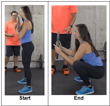 Bodyweight Squat with Weight