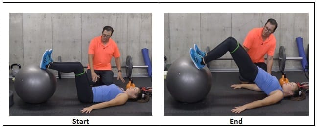 Hip Thrusters with Band on a Ball
