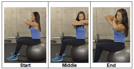 Sitting, Rotating and Side Bending
