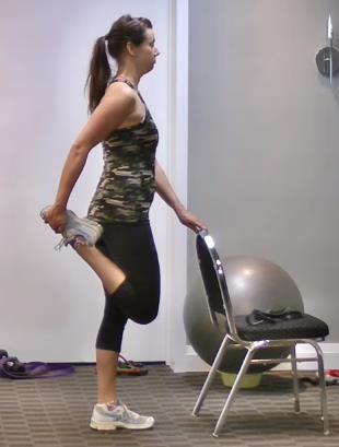 Traditional Quad Stretch