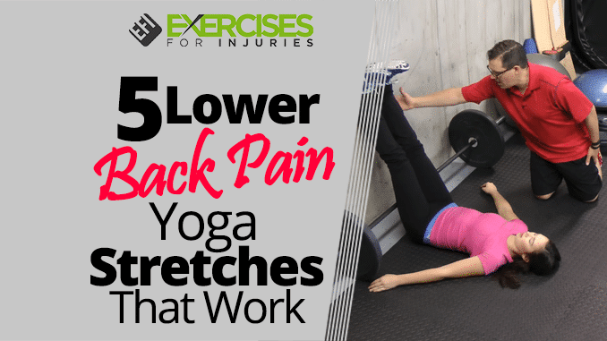 yoga exercises for lower back pain pdf
