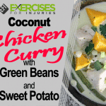Coconut Chicken Curry with Sweet Potato and Green Beans