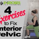 4 Exercises to Fix Anterior Pelvic Tilt